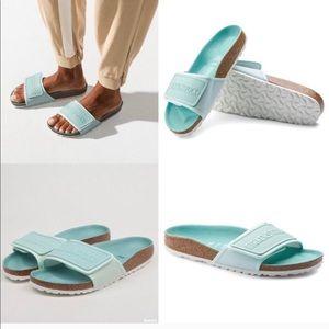 Birkenstock Tema Slide Sandal size 37 NEW MINT